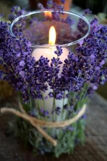 Lavender_Centerpiece