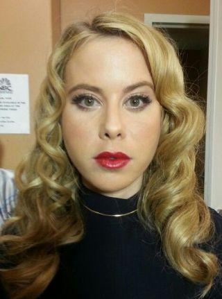 Tara Lipinski Hair & Makeup by Ginger Damato
