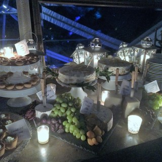 Dessert Table featuring Lemon Tramisu
