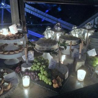 Dessert Table featuring Lemon Tramisu