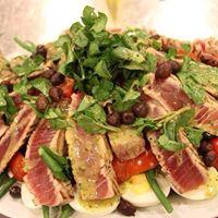 Rare Tuna Nicoise Salad